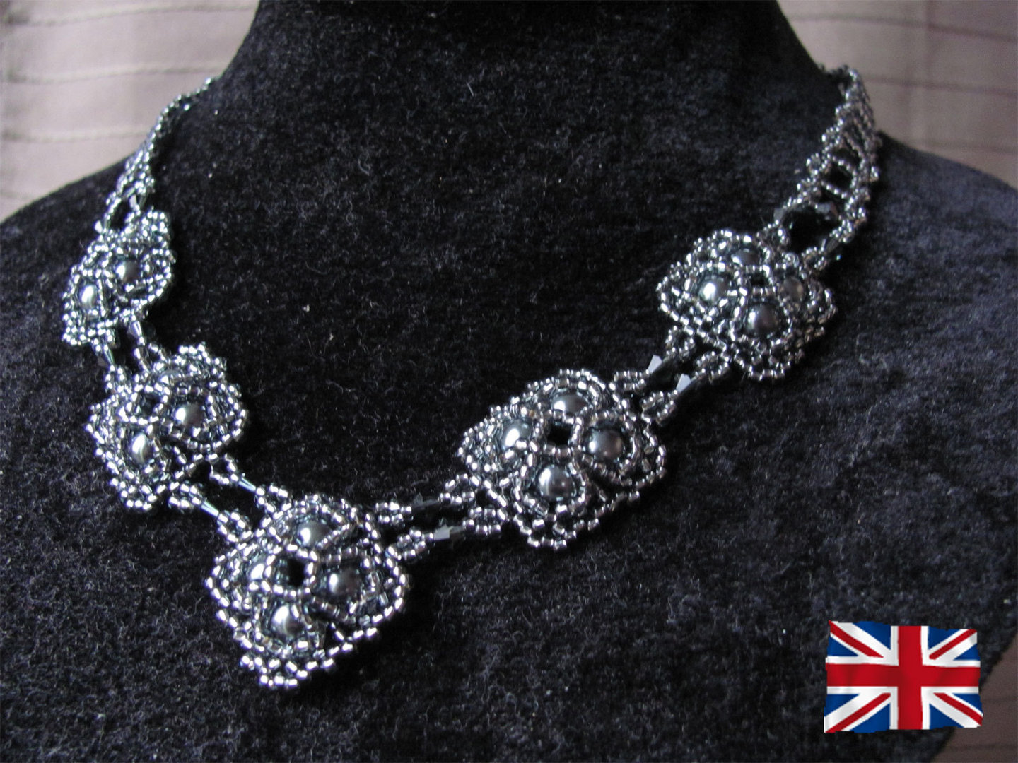 Tutorial for necklace 'Josephine' - English