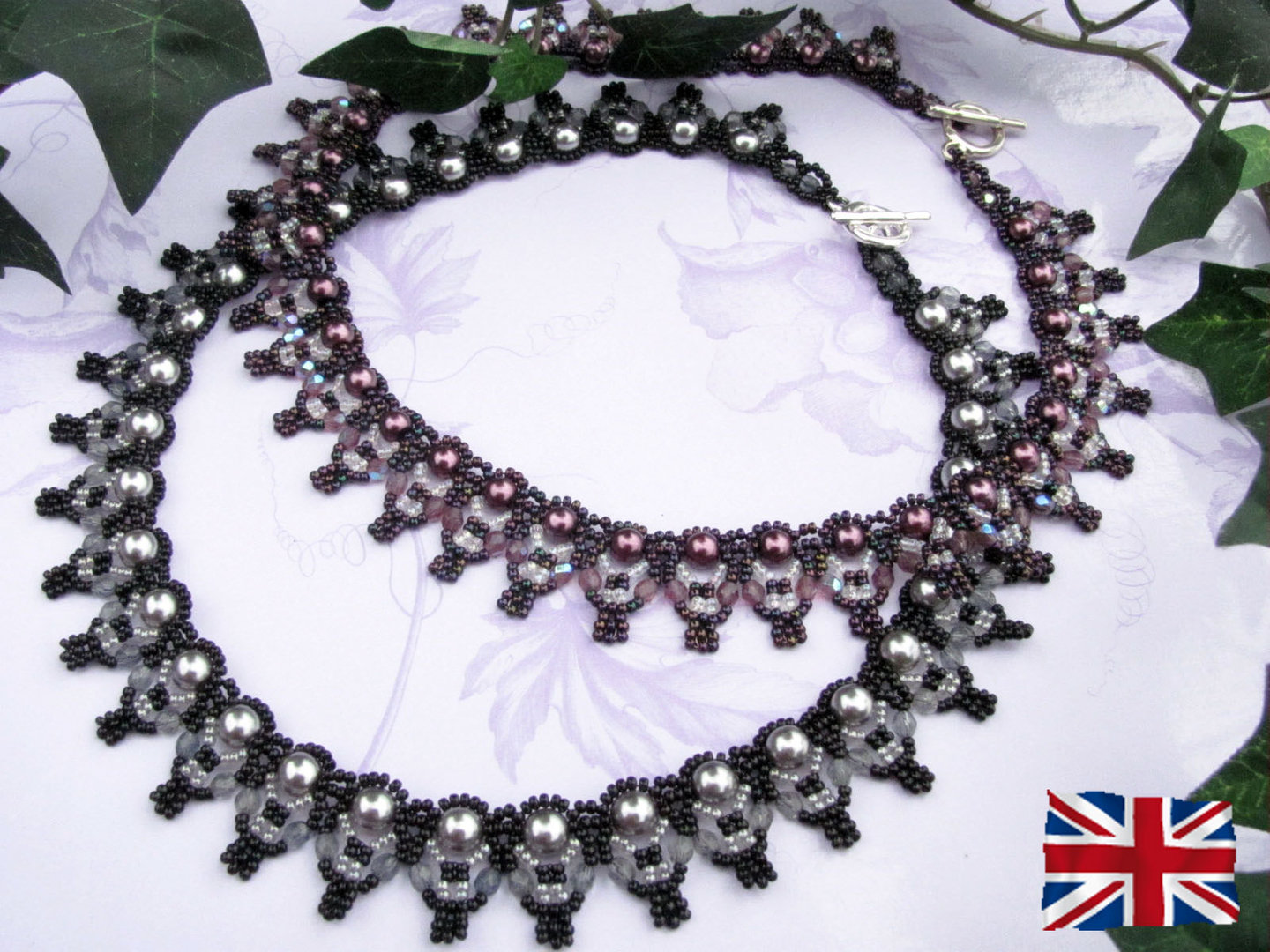 Tutorial for necklace 'Classico' - English