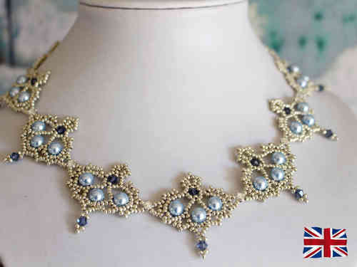 Tutorial for necklace 'Grace' - English