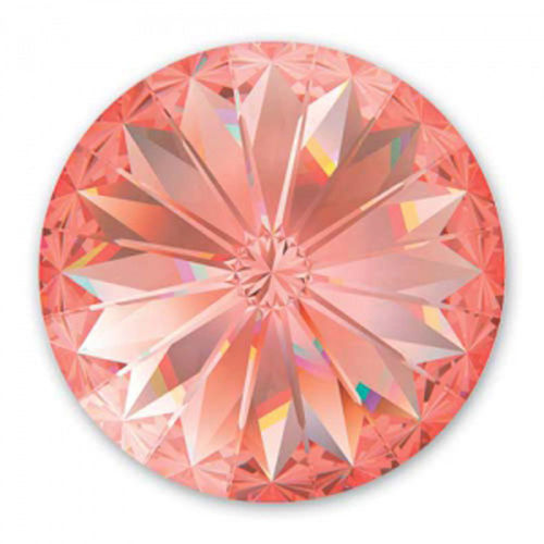 Swarovski Rivoli 14mm - Rose Peach