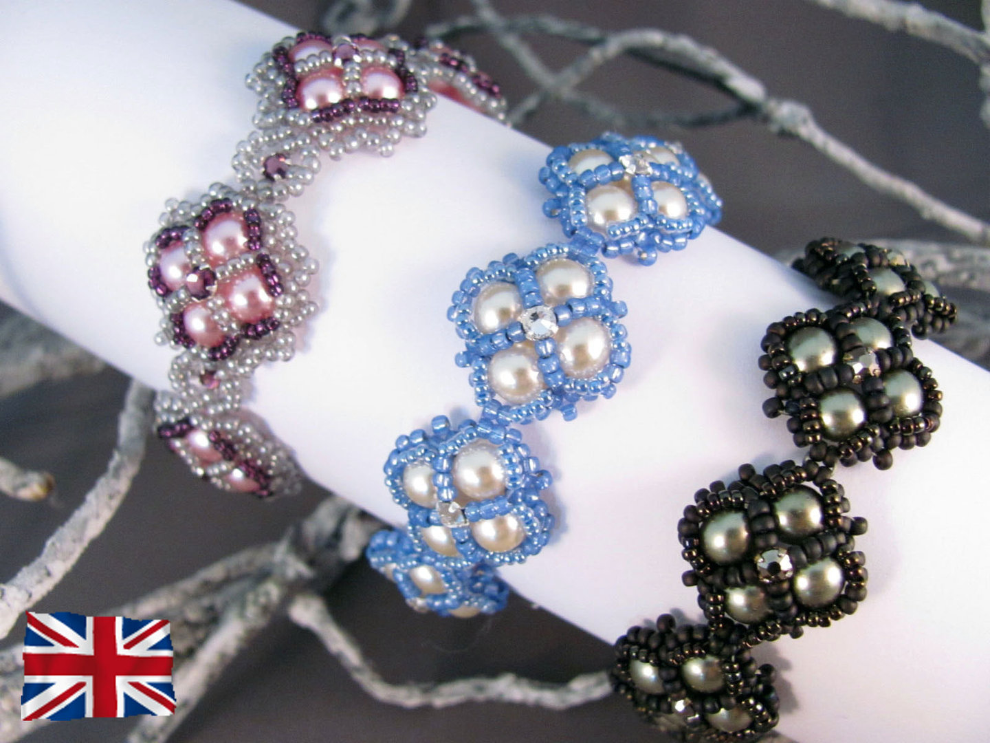Tutorial for bracelet 'Victoriana' - English