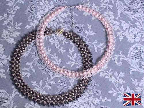 Tutorial for necklace 'Miss Sybil' - English