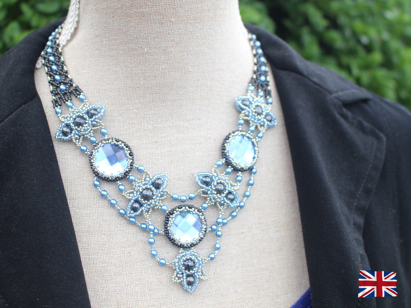 Tutorial for necklace 'Anastasia' - English