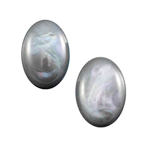 Cabochon Polaris Belliride 13x18mm - Grey