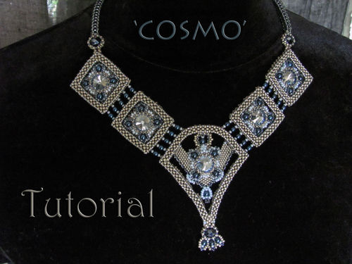 Tutorial for necklace 'Cosmo' - English