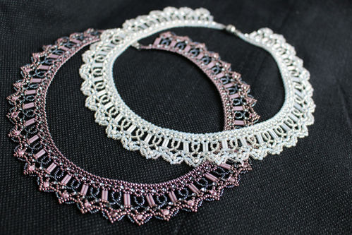 Tutorial for necklace 'Sparkles' - English