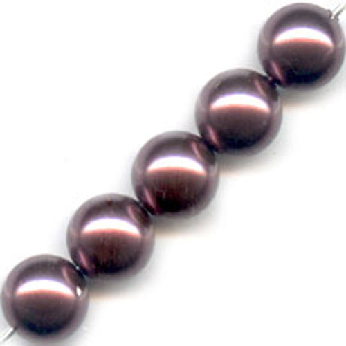 Swarovski Parel 6mm - Burgundy Pearl x10