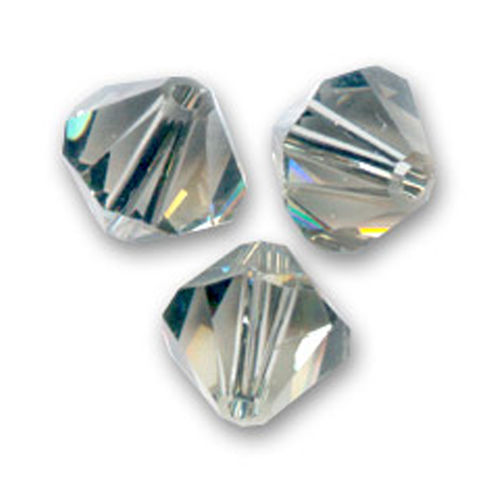 Swarovski Bicone 6mm - Black Diamond x20