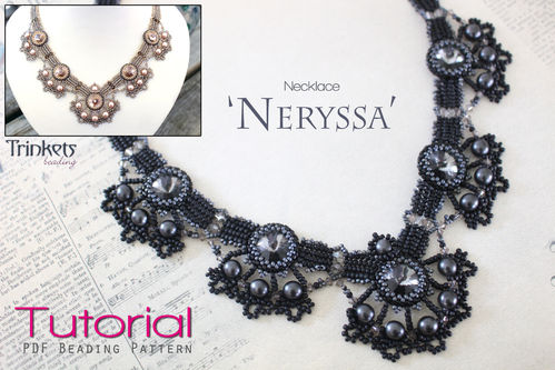 Beading pattern for necklace 'Neryssa'