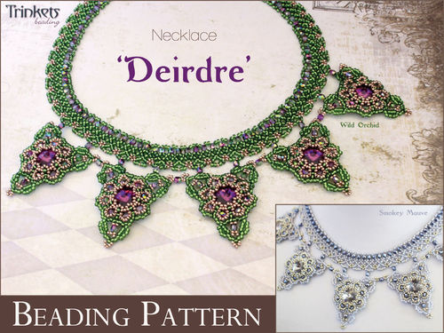 Beading pattern for necklace 'Deirdre'
