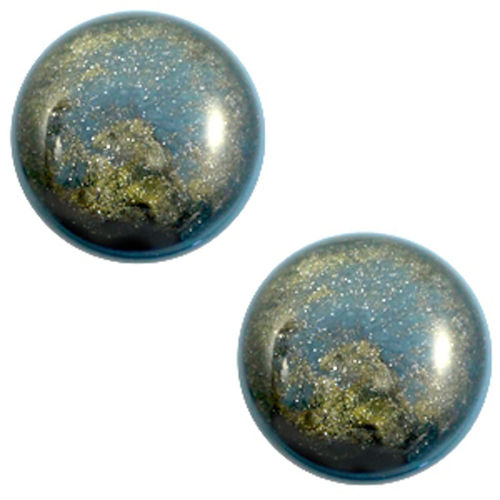 Polaris Cabochon Classic Stardust 20mm - Blue Shade
