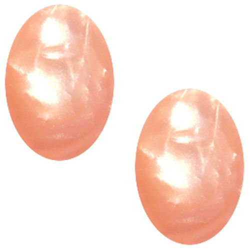Cabochon Polaris Mosso 13x18MM - Rose Peach
