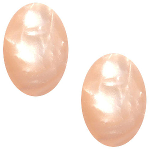Cabochon Polaris Mosso 13x18MM - Light Peach