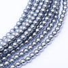 Glass Pearl 3mm - Grey Blue x150