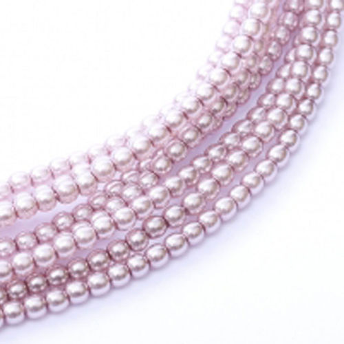 Glass Pearl 3mm - Lilac x150