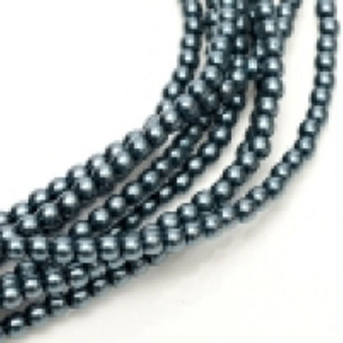 Glass Pearl 3mm - Dark Cyan x150