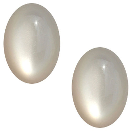 Cabochon Polaris Shiny 13x18mm - Silver Shade x1