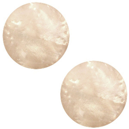 Polaris cabochon Mosso 20mm - Light Nude Brown x1