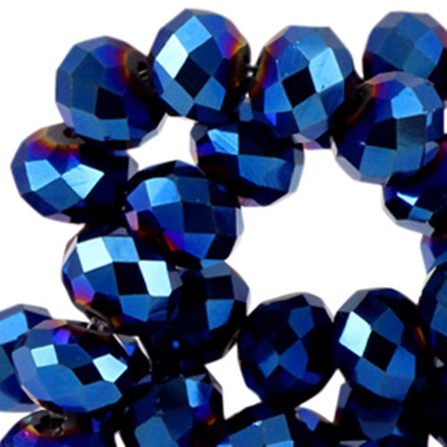 4x3mm Disc - Blue Violet Metallic x50
