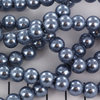8mm Pearl - Steel Blue x20