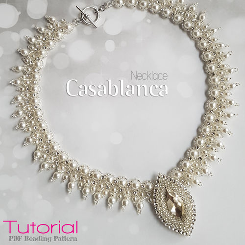 Beading pattern - Necklace 'Casablanca'