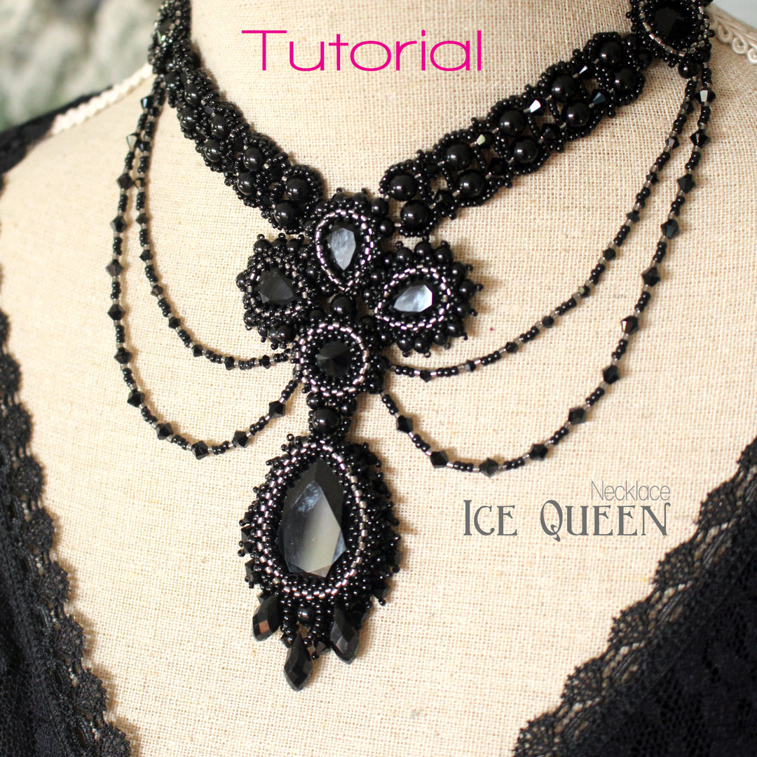 Beading pattern - Necklace 'Ice Queen'