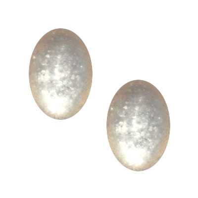 Cabochon Polaris Paipolas matt 13x18mm - Silk Beige