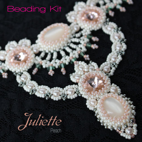 Beading kit 'Juliette' - Peach