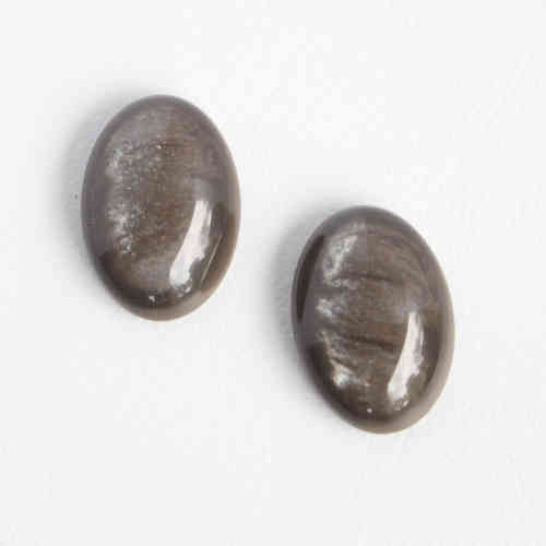 Cabochon Polaris Pearl Shine 13x18mm - Dark Taupe