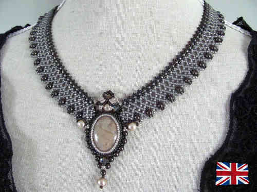 Tutorial for necklace 'Lady Mary' - English