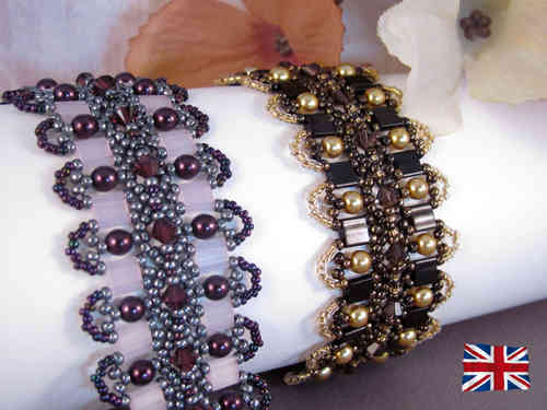 Tutorial for Bracelet 'Sweet Seduction' - English