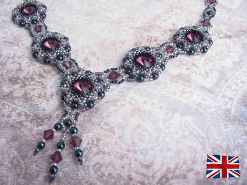 Tutorial for necklace 'Passion Play' - English