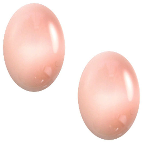 Cabochon Polaris Centroperla 13x18mm - Pink x1