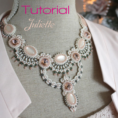 Tutorial for necklace 'Juliette' - English
