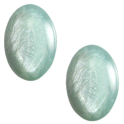 Cabochon Polaris Pearl Shine13x18mm - Grayed Jade