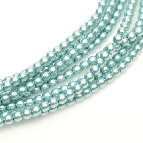 Glass Pearl 3mm - Celeste x150