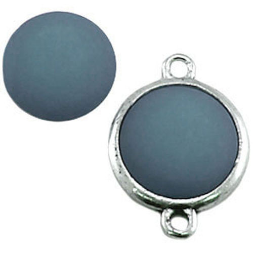 Polaris cabochon Mat 20mm - Light Sapphire x1