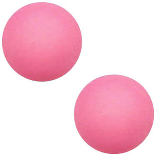 Polaris cabochon Mat 20mm - Rose Pink x1