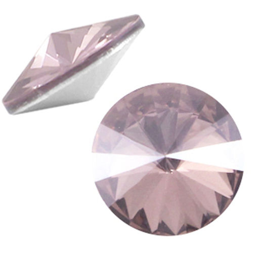 Rivoli 12mm - Light Rose Satin