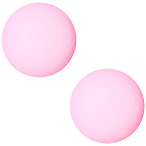 Polaris cabochon Matt 20mm - Pastel Rose Pink x1