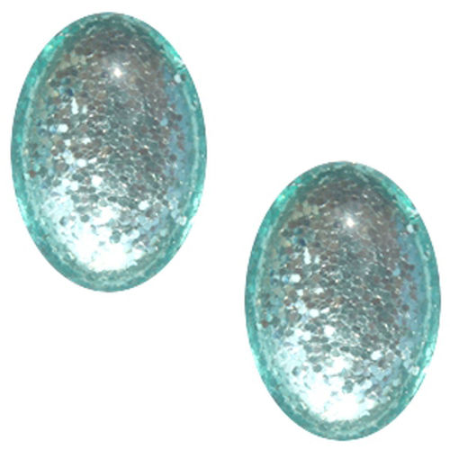 Cabochon Polaris Paipolas Shiny 13x18mm - Erinite Green x1