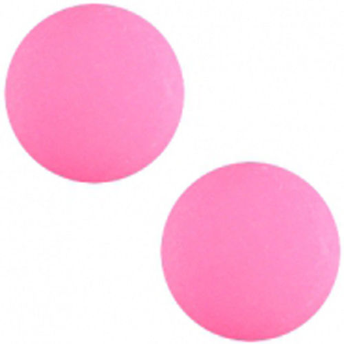 Polaris cabochon Matt 20mm - Magente Pink x1