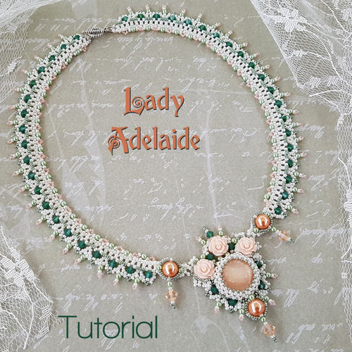 Beading pattern - Necklace 'Lady Adelaide'
