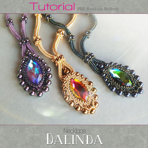 Beading pattern - Necklace 'Dalinda'