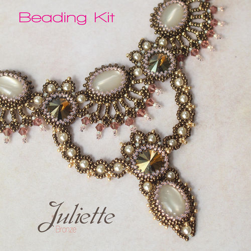 Beading kit 'Juliette' - Bronze