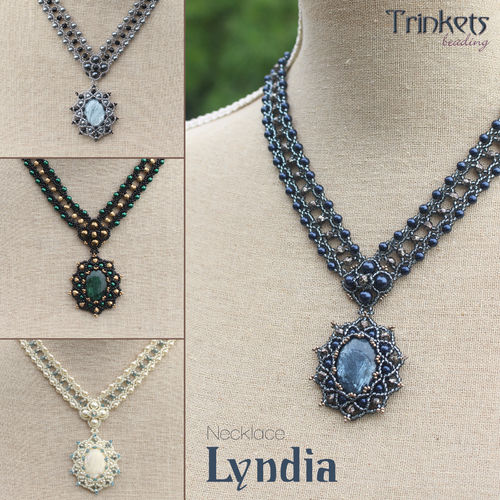 Beading pattern - Necklace 'Lyndia'