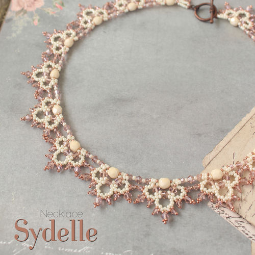 Beading pattern - Necklace 'Sydelle'