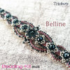 Beading Kit - Bracelet 'Belline' - Black