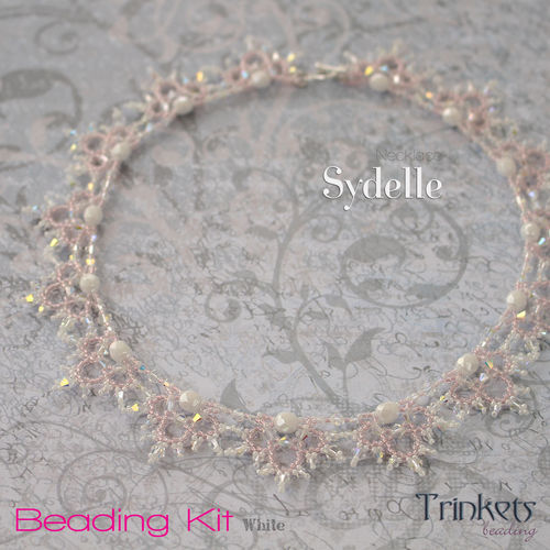 Beading Kit - Necklace 'Sydelle' - white