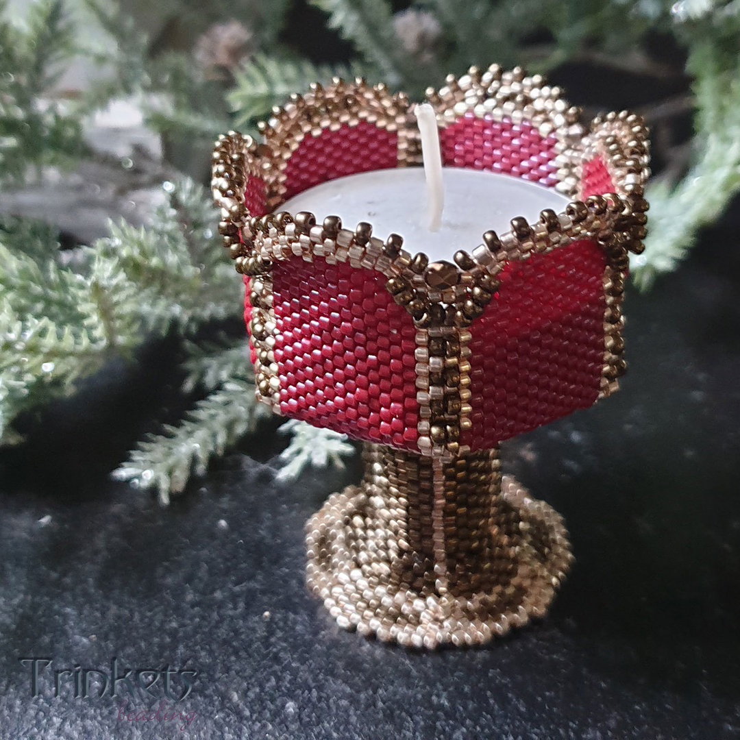 Beading pattern - Candle Holder 'Goblet'